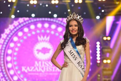 Miss Kyzylorda,Gulbanu Azimkhanova was crowned as Miss Kazakhstan 2016 she will represent Kazakhstan at Miss World 2017