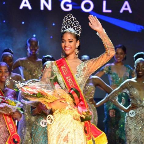Lauriela Márcia Martins is Miss Angola 2017