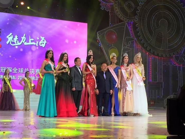 Sofia Del Rocio of Chile crowned Miss Tourism Queen of the Year 2016