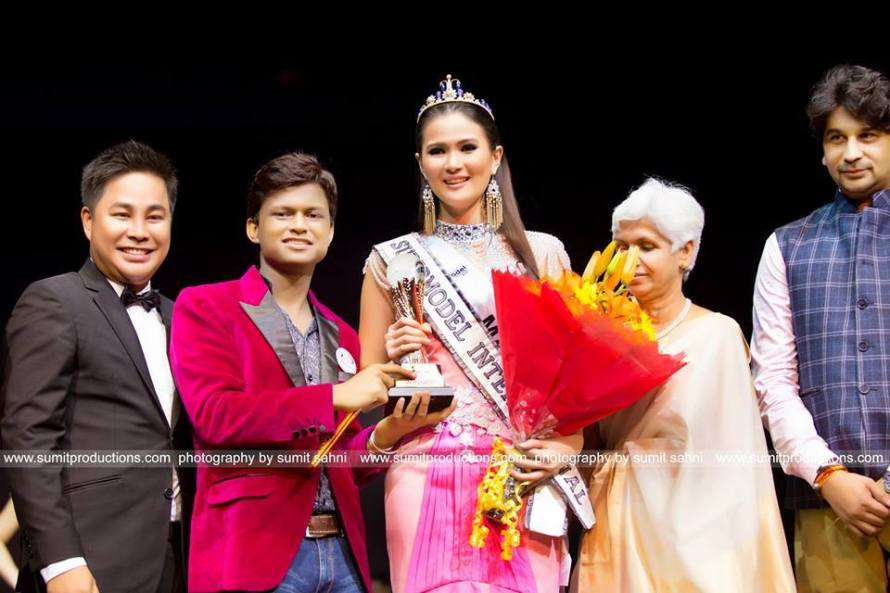 Supermodel International 2016 winner Josephine Tan from Malaysia