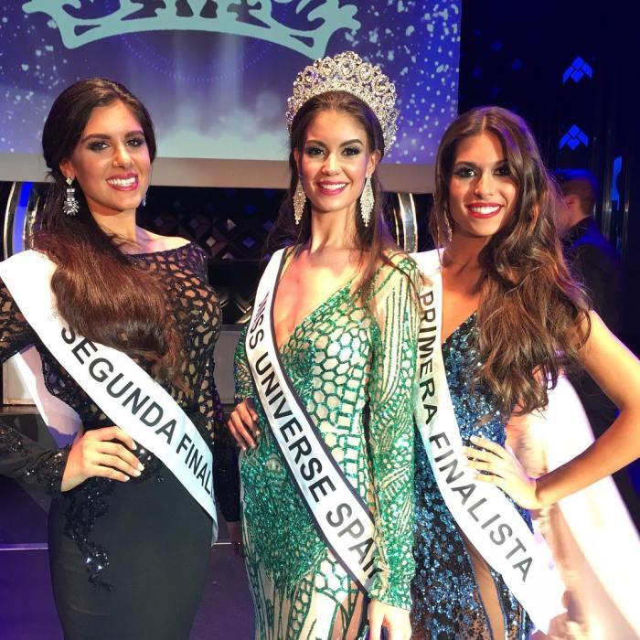 Noelia Freire Benito is Miss Universe Spain 2016