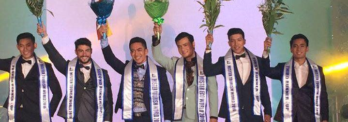 Ye Htoo Win from Myanmar wins Mister Tourism World 2016