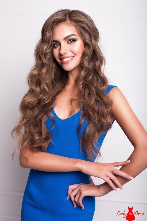 Miss Ukraine: Oleksandra Kucherenko