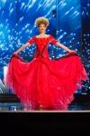 Miss Albania, Lindita Idrizi during Miss Universe 2016 National Costume presentation