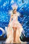 Miss Angola,Luisa Baptista during Miss Universe 2016 National Costume presentation