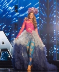 Miss Australia,Caris Tiivel during Miss Universe 2016 National Costume presentation