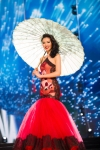 Miss China,Li Zhen Ying during Miss Universe 2016 National Costume presentation