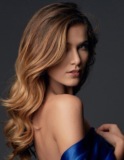 Miss Czech Republic- Andrea Bezděková during Miss Universe 2016 glamshots