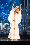 Miss Czech Republic,Andrea Bezdekova during Miss Universe 2016 National Costume presentation