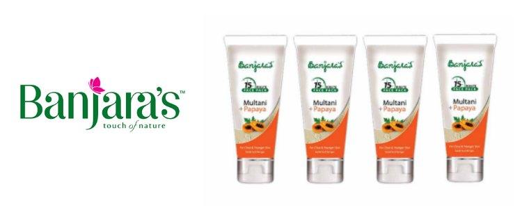 Banjara's Papaya Facepack