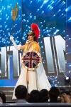 Miss Great Britain ,Jaime-Lee Faulkner during Miss Universe 2016 National Costume presentation
