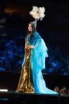 Miss Kazakhstan,Darina Kulsitova during Miss Universe 2016 National Costume presentation