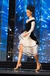 Miss Kosovo ,Camila Barraza during Miss Universe 2016 National Costume presentation
