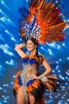 Miss Malta,Martha Fenech during Miss Universe 2016 National Costume presentation