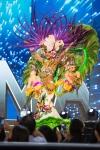 Miss Panama,Keity Drennan during Miss Universe 2016 National Costume presentation