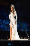 Miss Poland ,Izabella Krzan, during Miss Universe 2016 National Costume presentation