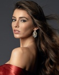 Miss Portugal -Flávia Brito during Miss Universe 2016 glamshots