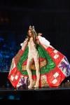 Miss Puerto Rico,Brenda Jimenez during Miss Universe 2016 National Costume presentation