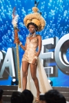 Miss Sierra Leone ,Hawa Kamara during Miss Universe 2016 National Costume presentation