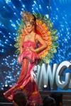 Miss Singapore,Cheryl Chou during Miss Universe 2016 National Costume presentation