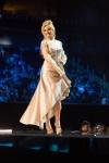 Miss Slovenia ,Lucija Potocnik during Miss Universe 2016 National Costume presentation