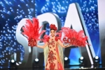 Miss Spain,Noelia Freire during Miss Universe 2016 National Costume presentation
