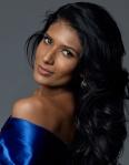 Miss Sri Lanka-Jayathi De Silvaduring Miss Universe 2016 glamshots