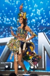 Miss Tanzania,Jihan Dimack during Miss Universe 2016 National Costume presentation