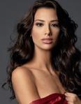 Miss Uruguay -Magdalena Cohendet during Miss Universe 2016 glamshots