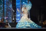 Miss Venezuela ,Mariam Habach during Miss Universe 2016 National Costume presentation