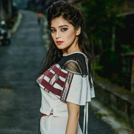 Triveni Barman will represent Assam at Femina Miss India 2017 pageant