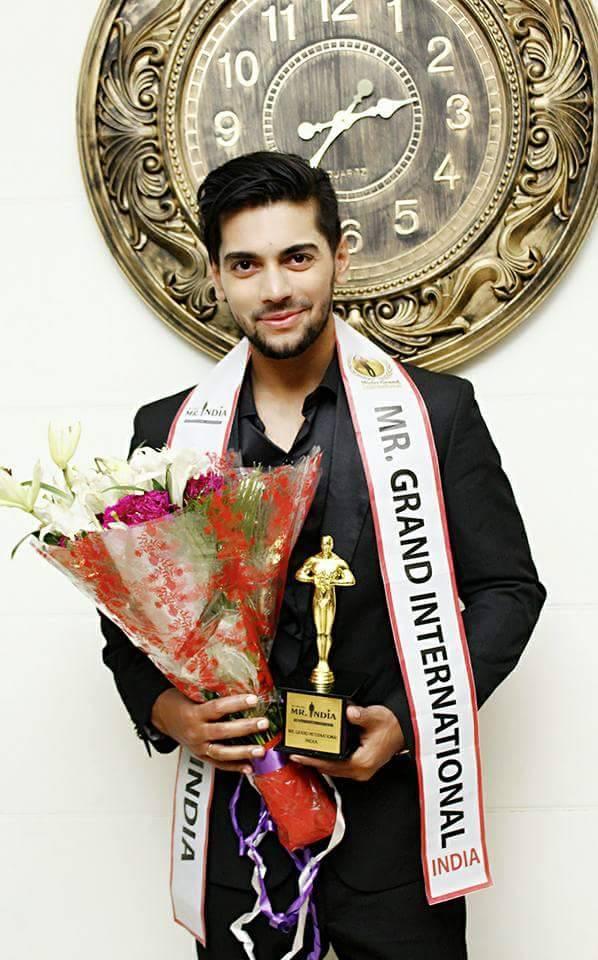 Meet the first Mr Grand India: Debojit Bhattacharya, Rubaru Mr India 2017