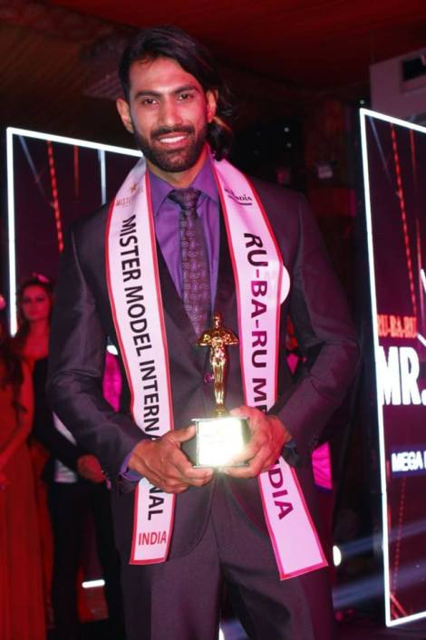 Himachal guy, Mohit Sharma wins Rubaru Mr India Model International 2017