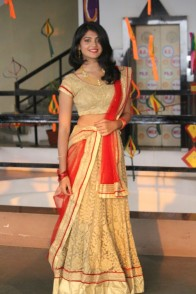 Vrushali Gaurkar during her Ethnic Round