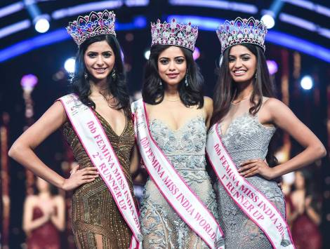Who will succeed (L-R) Pankhuri Gidwani, Priyadarshini Chatterjee and Sushruthi Krishna as the new Femina Miss India trio?meet the contestants