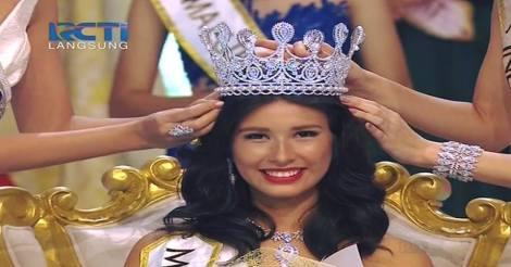 Achintya Nilsen wins Miss World Indonesia 2017.