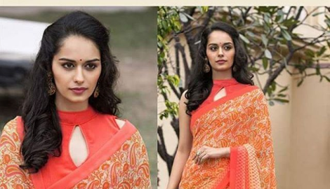 Manushi Chhillar is Femina Miss India Haryana 2017