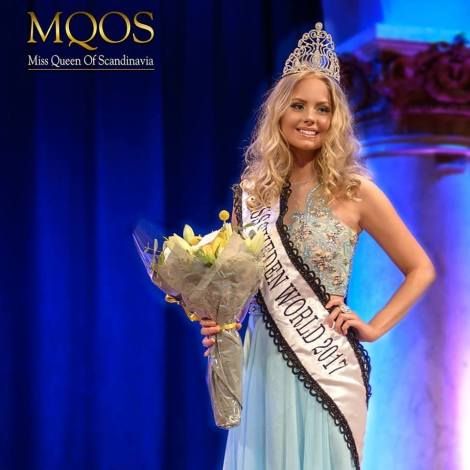 Hanna-Louise Haag Tuvér crowned Miss World Sweden 2017