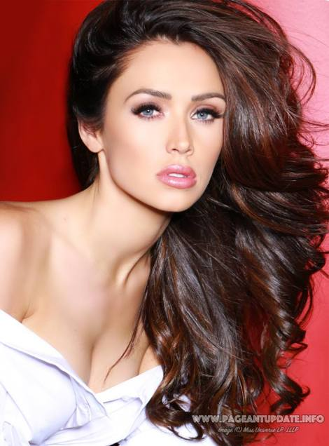 Miss Maine, Brooke Harris during official photo for Miss USA 2017 pageant