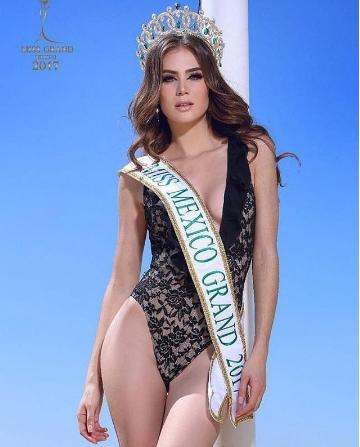 Yoana Gutierrez is Miss Grand Mexico 2017