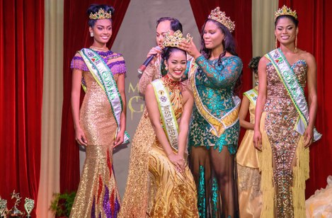 Vena Mookram crowned Miss World Guyana 2017!