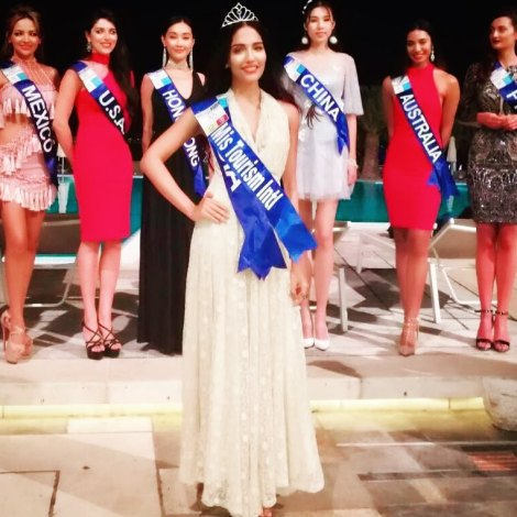 Rashmi Buntwal of India wins Miss Tourism International 2017