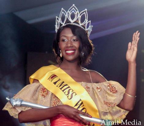 Chiedza Lorraine Mhosva will represent  Zimbabwe  at Miss World 2017