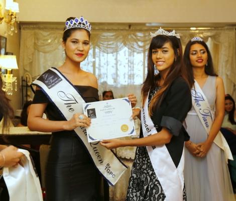Ekta Choudhary The Tiara Queen by TGPC