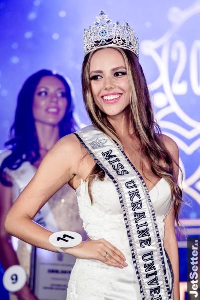 Yana Krasnikova is Miss Universe Ukraine 2017