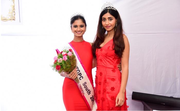Shraddha Shashidhar crowned as Miss TGPC South 2017