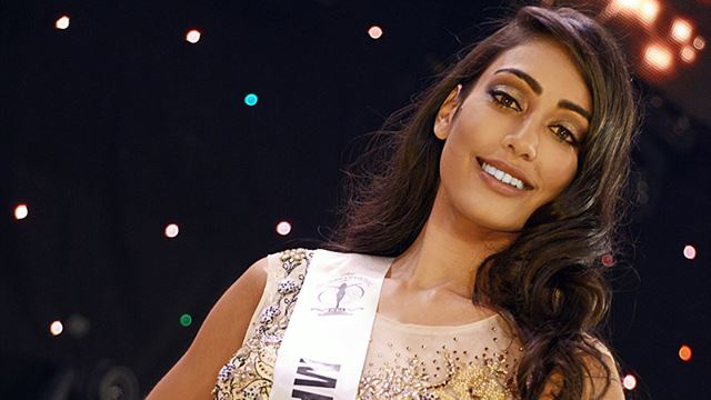 Angie Callychurn is Miss Universe Mauritius 2017
